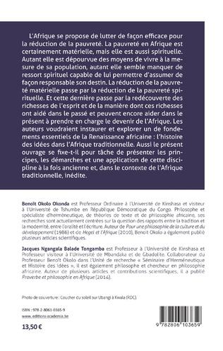 4eme Introduction à l'histoire des idées dans le contexte de l'oralité.