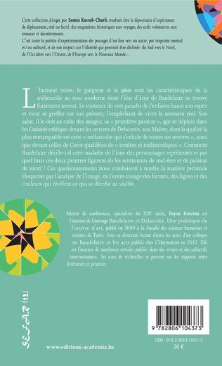 4eme La mélancolie Baudelaire