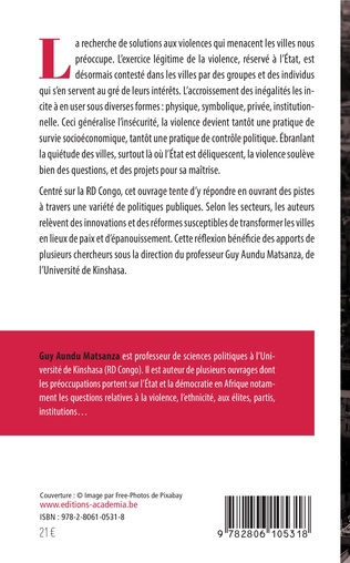 4eme Violences urbaines en RD Congo, que faire?