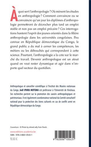 4eme Profession d'anthropologue en milieu congolais