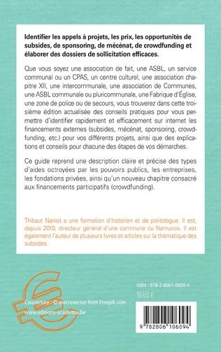 4eme Guide de recherche de financements externes sur internet pour les asbl et les pouvoirs locaux
