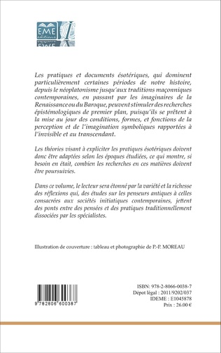 4eme Ésotérisme et initiation (2e édition)
