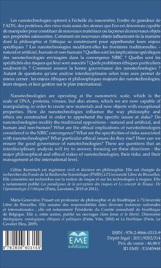 4eme Les nanotechnologies : vers un changement d'éthique ?