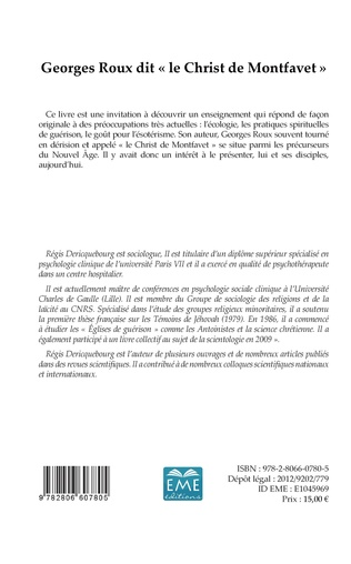 4eme Georges Roux dit