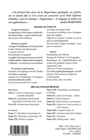 4eme Oeuvres (Tome IV)