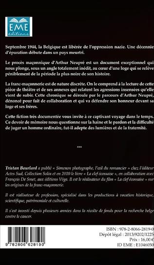 4eme Le procès d'Arthur Neupré