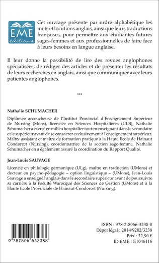 4eme Midwives' dictionary (Tome 1)
