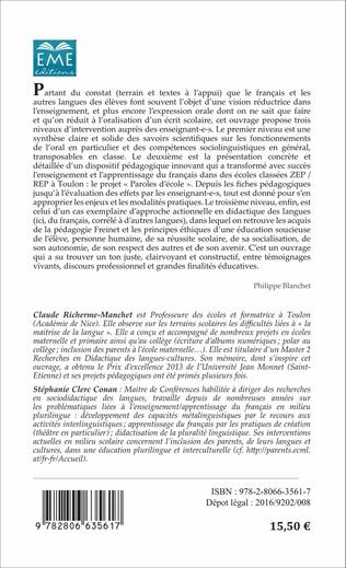 4eme Didactique du français :
