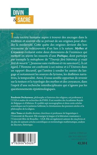4eme Poétique, mythes et croyances