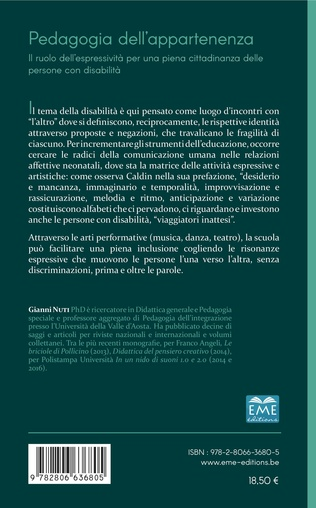 4eme Pedagogia dell'appartenenza