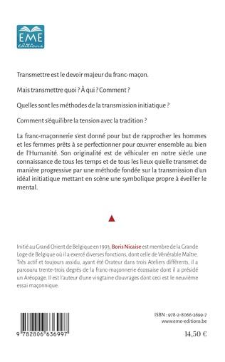 4eme La transmission en franc-maçonnerie