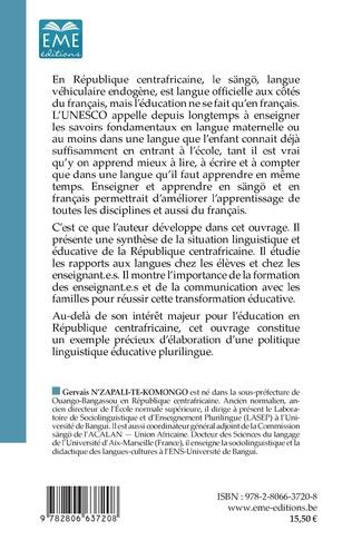 4eme Langues et éducation en Centrafrique