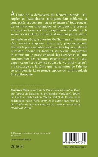 4eme Ébauches anthropologiques