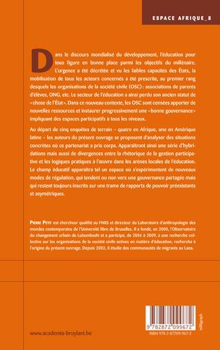 4eme Société civile et éducation
