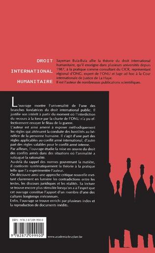 4eme Droit international humanitaire