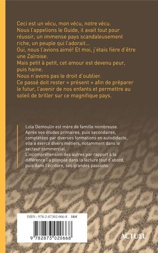 4eme Fillette sous Mobutu