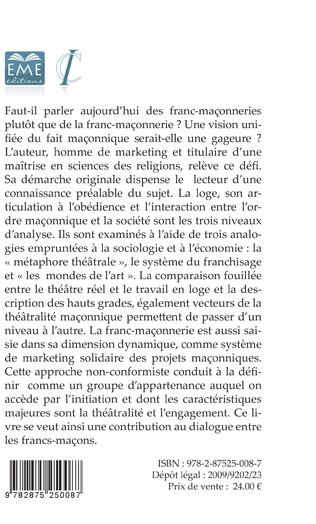 4eme La franc-maçonnerie