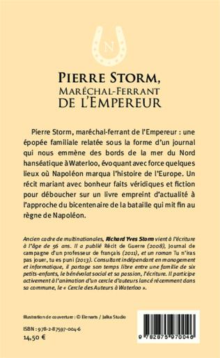 4eme Pierre Storm, Maréchal-Ferrant de l'Empereur