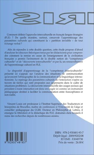 4eme Interactions verbales et communication interculturelle en FLE (2e édition)